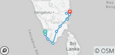 12 Days South India Tour - 11 destinations
