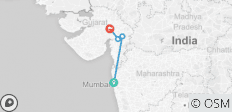 Mumbai to Ahmedabad Western India Overland Tour - 4 destinations