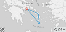 Greece Island Hopper featuring Athens, Mykonos and Santorini - 6 destinations