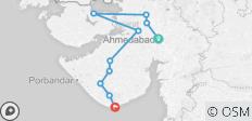 Historical Sights, Regal Cities & Wildlife Sanctuaries of Gujarat - Extension Tour from Ahmedabad - 10 destinations