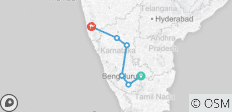 The Southern Feast - Karnataka & Goa - 6 destinations