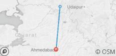 Ahmedabad to Mount Abu - The Dilwara Temples & Mount Abu Sanctuary Tour - 3 destinations