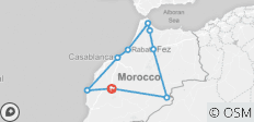 Exotic Morocco Small Group - 9 destinations