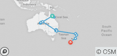 Australia and New Zealand Expedition - 15 destinations