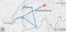 Switzerland: Hidden Trails & Majestic Peaks (Neuchatel to Lucerne) (2022) - 7 destinations