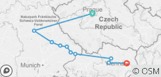 Authentische Donau & Prag (2022) (Prag bis Wien, 2022) - 10 Destinationen