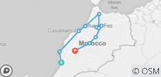 Morocco Tour From Agadir to Marrakech, visiting Casablanca, Rabat, Fes and Chefchaouen (8 Days) - 11 destinations
