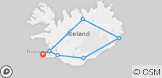 Journey Around Iceland - 7 destinations