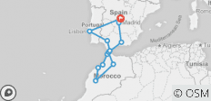 Spain , Morocco & Portugal - 14 destinations