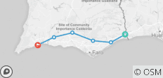 Explorer: Cycling the Algarve (from Castro Marim to Lagos) - 6 destinations