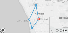 Nomadic Namibia (7 Days) - 5 destinations