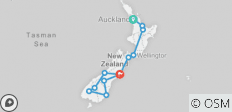 New Zealand Uncovered (15 Days) - 12 destinations