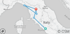 Discovery of Italy & Cinque Terre - 8 Days (Small Group Tour) - 7 destinations