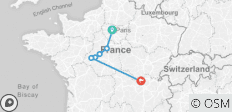 France Cycle to Chateau (7 Days) - 6 destinations