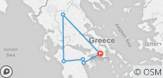 Glories of Greece (Kleine Gruppen, Winter, 7 Tage) - 6 Destinationen