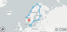 Grand Scandinavia (Classic, Preview 2022, 20 Days) - 13 destinations
