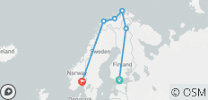 Northern Lights of Scandinavia (Small Groups, 10 Days) - 6 destinations