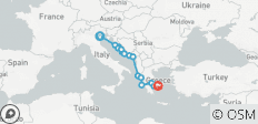 Discover the Mediterranean from Venice to Athens - 15 destinations