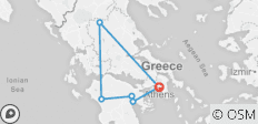 Glories of Greece (Small Groups, Preview 2022, 7 Days) - 6 destinations