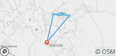 6 Days - Mount Kenya Climb - Chogoria Naro Moru Route - 7 destinations