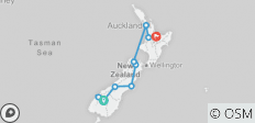 New Zealand: See & Do it ALL in 10 Days, 1st Class Traveling - 12 destinations