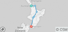 10 Day \'Whio\' North Island Tour - 6 destinations