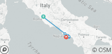 Journey of Rome, Sorrento & Amalfi Coast - 6 days - 8 destinations