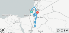 Israel & Jordan - Small Group , 2021 - 14 destinations