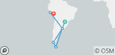 Extremes of South America - 15 destinations