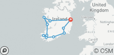 2021 Irish Gold Self-Drive - 9 Days/8 Nights - 11 destinations