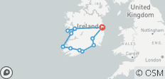 2021 Irish Legends Self-Drive - 10 Days/9 Nights - 12 destinations