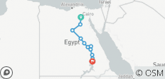 Cairo to Aswan 15 Days Long Nile Cruise - 12 destinations