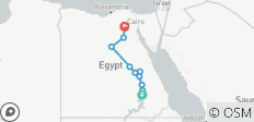 Aswan to Cairo 13 Days Long Nile Cruise - 11 destinations