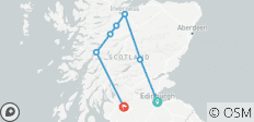 Scotland Express - 8 Days - 7 destinations
