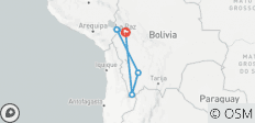 9-Day Essence of Bolivia to Salar de Uyuni and Lake Titicaca - 5 destinations