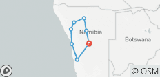 10 Day Namibian Experience - 8 destinations