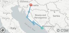Jewels of Croatia 8 Day/7 Night Coach Tour - 6 destinations