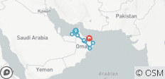 Oman & Arabische Emirate: Höhepunkte - 9 Destinationen