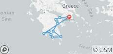 Grand Peloponnese (Self-Drive) - 8 Days - 12 destinations