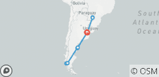 Valdes Peninsula & Iguassu Falls & El Calafat From Buenos Aires - 10 Days - 11 destinations