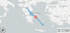 Highlights of Greece Tour - 8 Days - 7 destinations