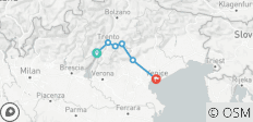 From Lake Garda to Venice (8 days) - 6 destinations