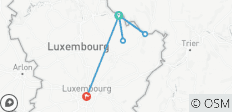 Hike Luxembourg - 6 destinations