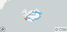 On the ring road through Iceland - 15 destinations