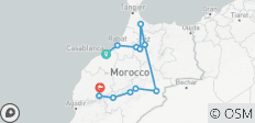 Premium Morocco in Depth - 12 destinations
