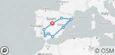 Discovery of Spain - 10 days - 9 destinations
