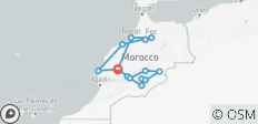 Grand Tour of Morocco - 15 destinations