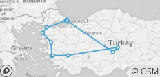 Essential Turkey - 10 destinations