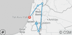 Israel Explorer - 7 destinations