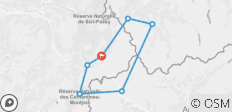 Mont Blanc TMB Circuit  - 7 destinations